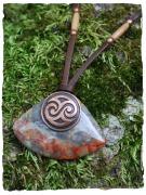 Celtic Spiral & Stone