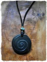 Dark Ceramic Spiral